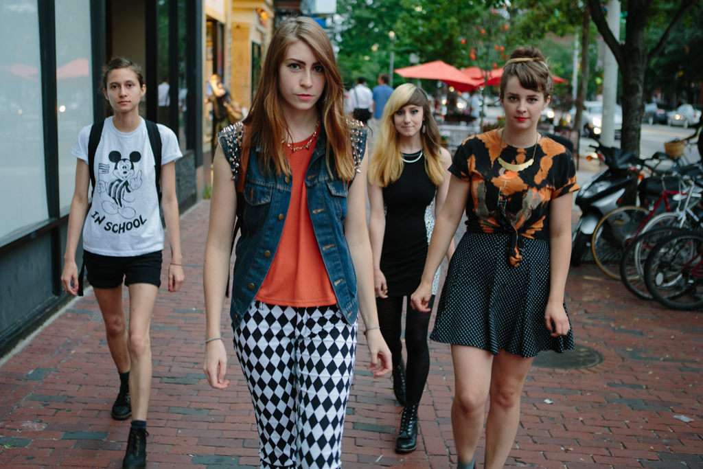 """Potty Mouth have shared the new video for their track """"Cherry Picking""""."""