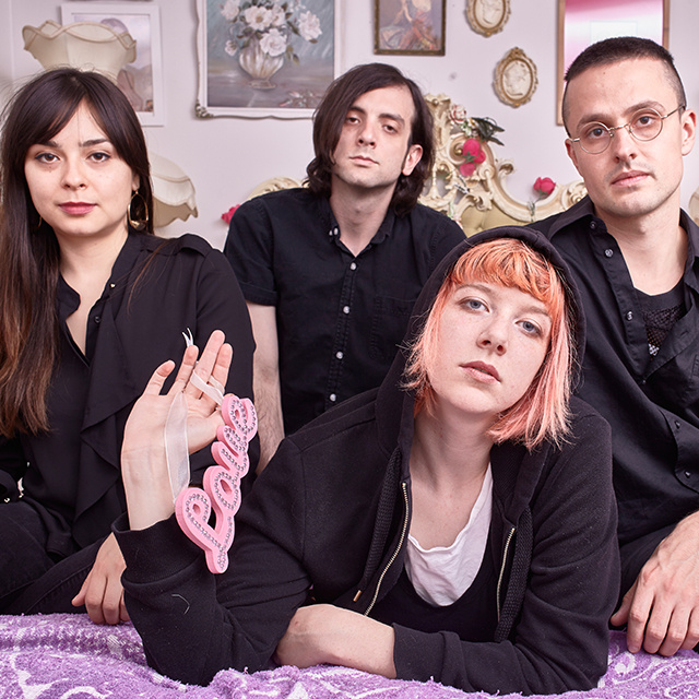 """Dilly Dally have shared their second single """"Purple Rage"""" from their forthcoming release 'Sore'"""