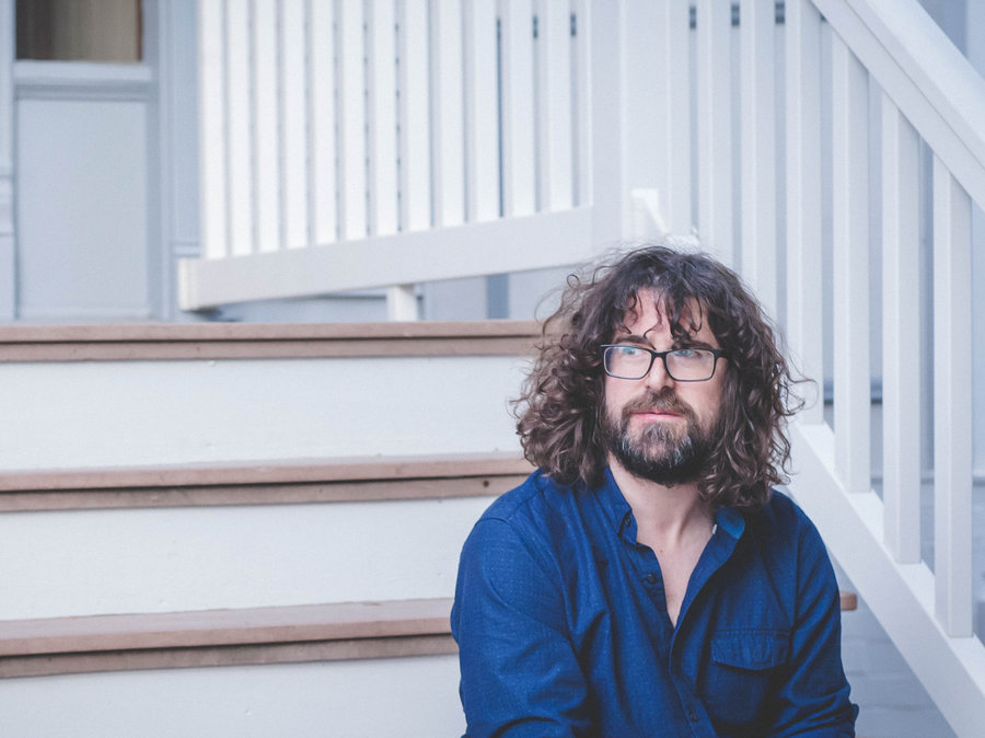 "Lou Barlow's 'Brace the Wave' album Out Today on Joyful Noise, Watch his New video for""Repeat""."