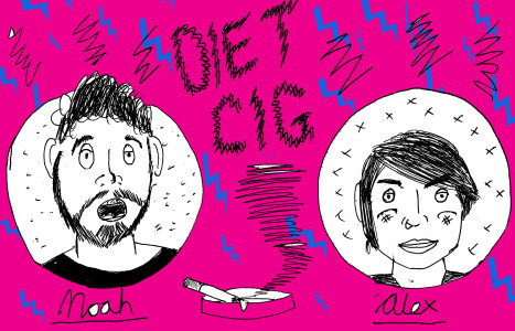 Alex and Noah from Diet Cig share their favourite albums with Northern Transmissions,
