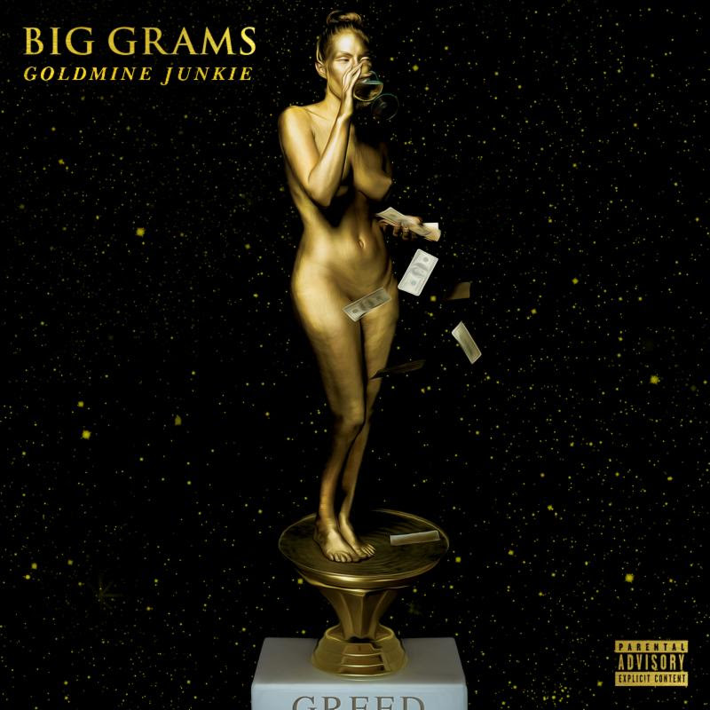 """Big Grams continue their release of new songs, today, they share """"Goldmine Junkie"""""""