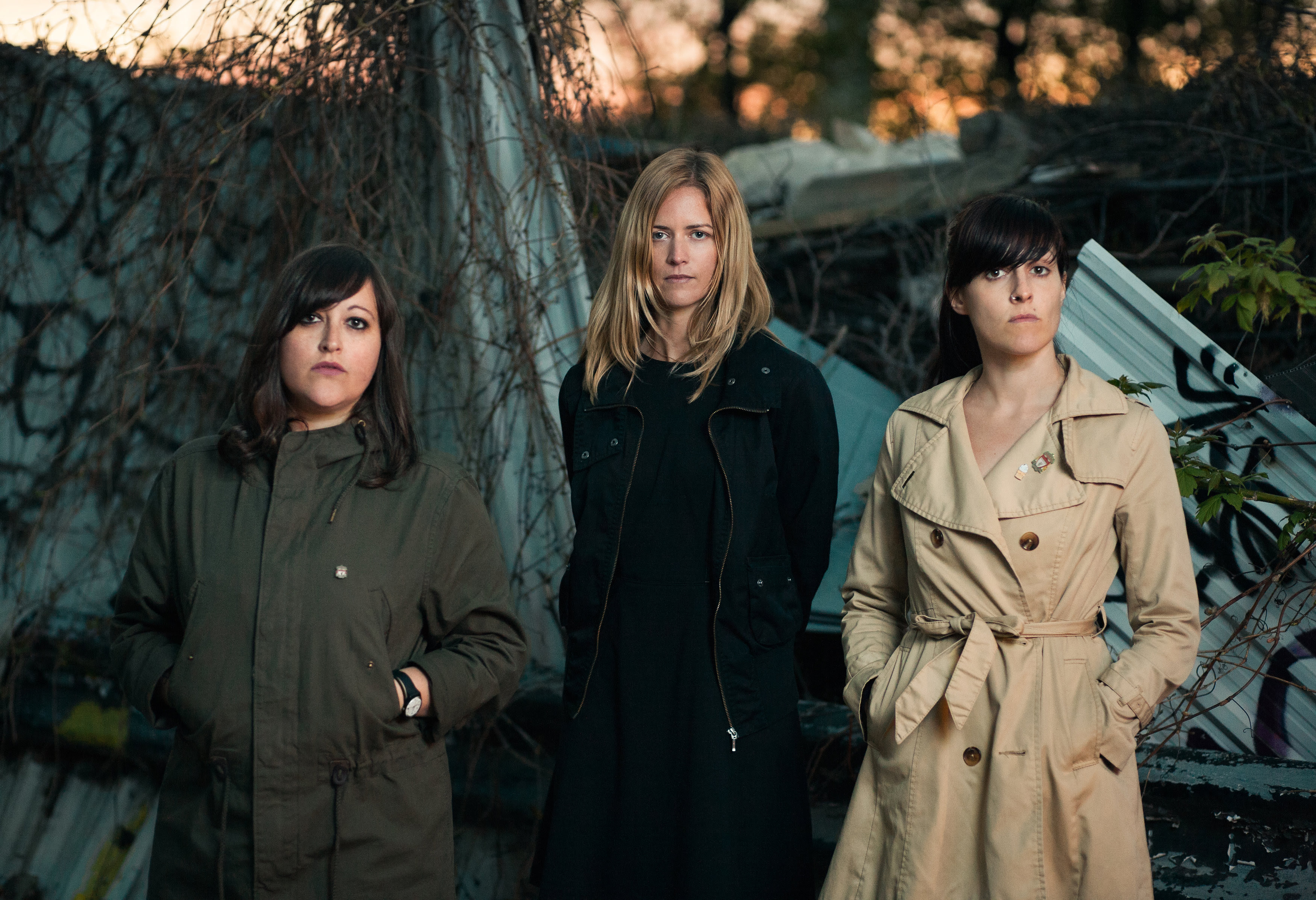 "The Beverleys Announce new LP 'Brutal', Premiere first single ""Visions"". 'Brutal' comes out via Buzz Records"