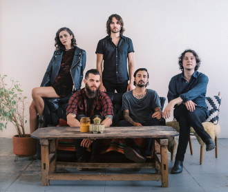 """LA Dream-Pop Quintet Nightjacket debut Video for their new single """"The Right Way To Fall"""","""