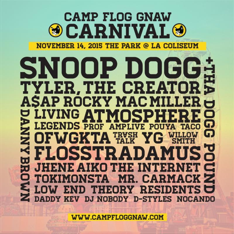 Tyler, The Creator Headlines 4th CFG Carnival