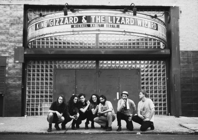 "King Gizzard & The Lizard Wizard's single ""Trapdoor"""