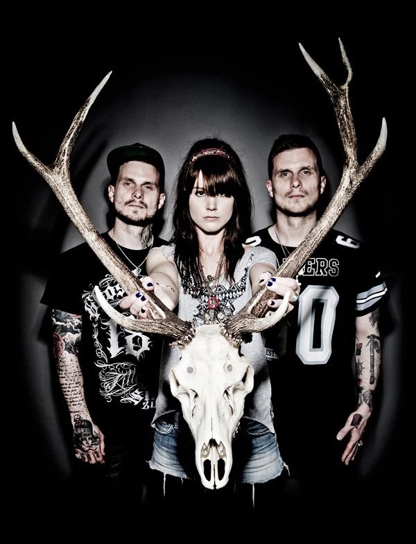 """We Three And The Death Rattle premiere video for their new single """"Stray Rounds"""""""