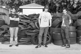 "Northern Transmissions' 'Song of the Day' is ""Thrash Master"" by Spray Paint."
