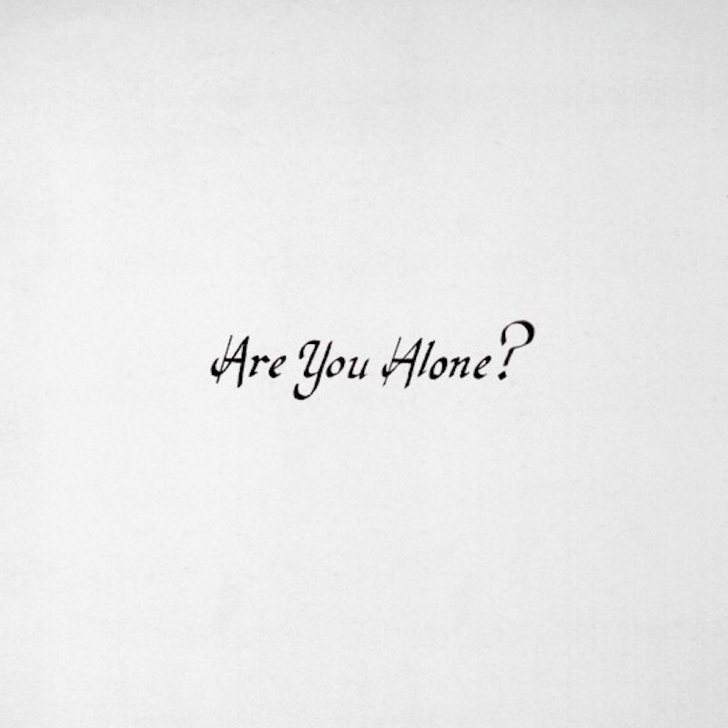 Review of Majical Cloudz forthcoming LP 'Are You Alone?''