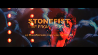 """Health have shared a new live video for single """"Stonefist"""", the video was shot in London by director Giorgio Testi."""