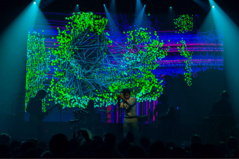 """Neon Indian releases live performance video for """"The Glitzy Hive"""""""