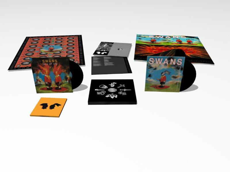 SwasnSwans' Reissues Ltd Ed of Classic Albumss Reissue White Light' Ltd Ed Vinyl/3CD