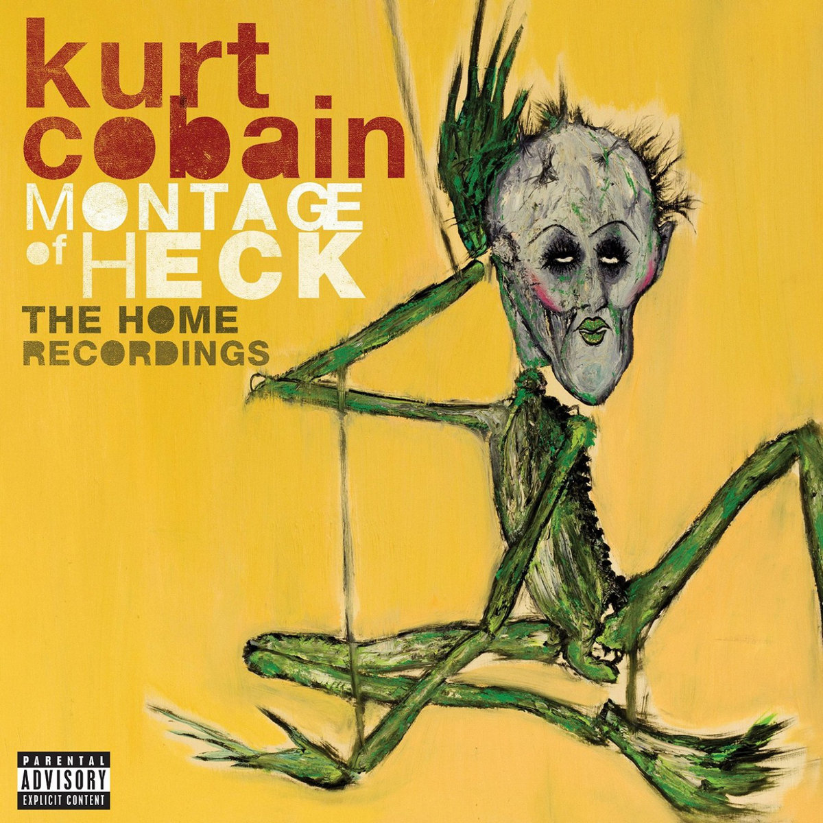 Review of 'Montage of Heck: The Home Recordings' by Kurt Cobain.