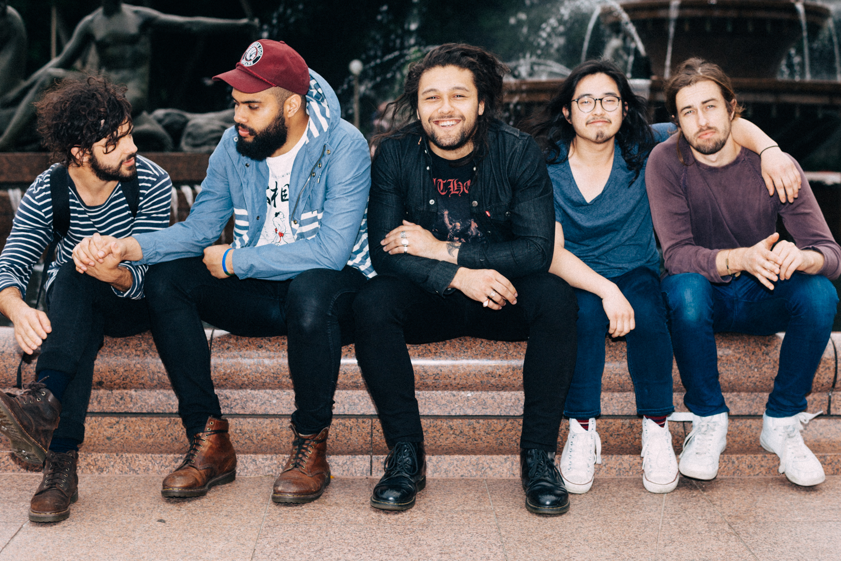 Interview with Gang of Youths, David Le'aupepe.