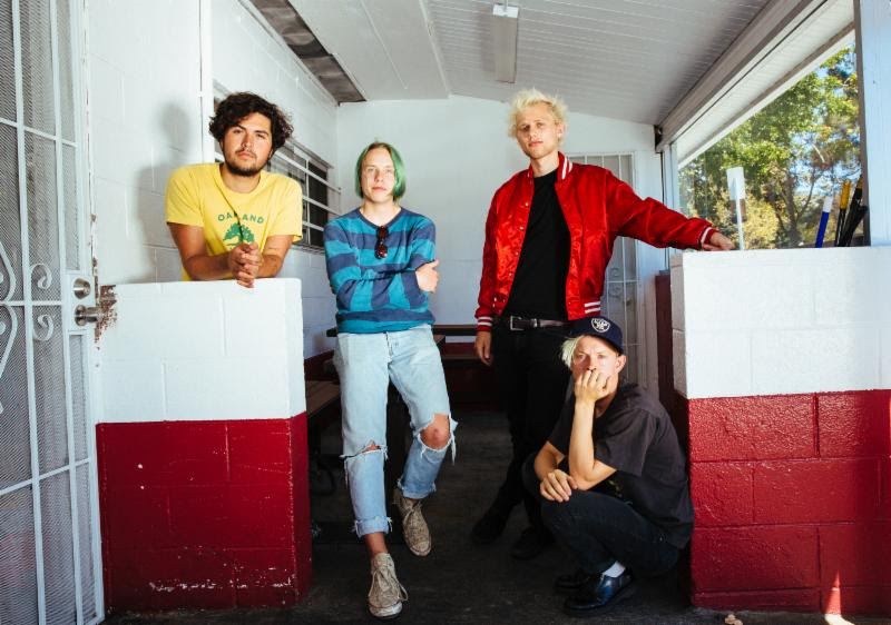 SWMRS have announced a co-headlining tour with Melissa Brooks and The Aquadolls.