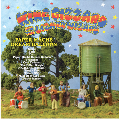 Review of King Gizzard and the Lizard Wizard album 'Paper Maché Dream Balloon