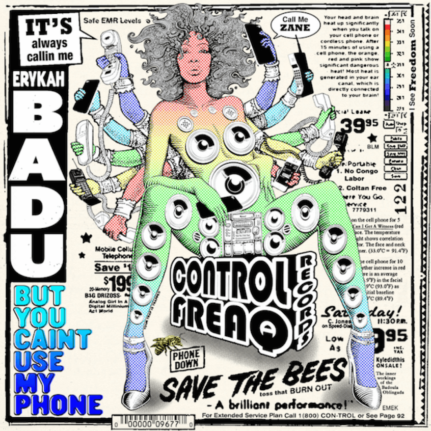 'But You Caint Use My Phone ' by Erykah Badu, review by Gregory Adams
