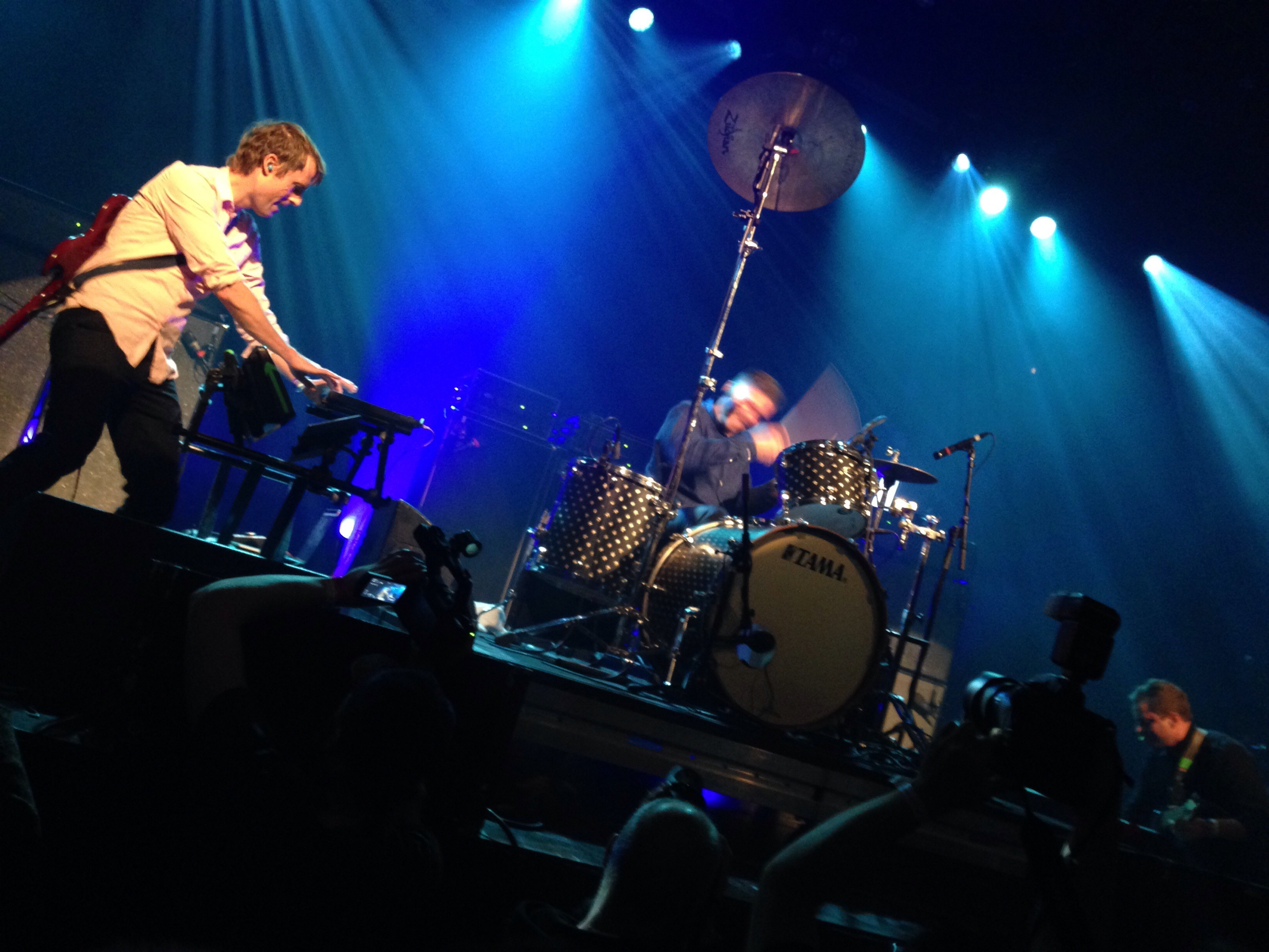 Battles at Iceleand Airwaves 2015