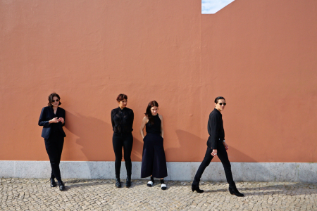 """Savages have shared their new single """"T.I.W.Y.G."""", the track comes off their forthcoming release 'Adore Life',"""