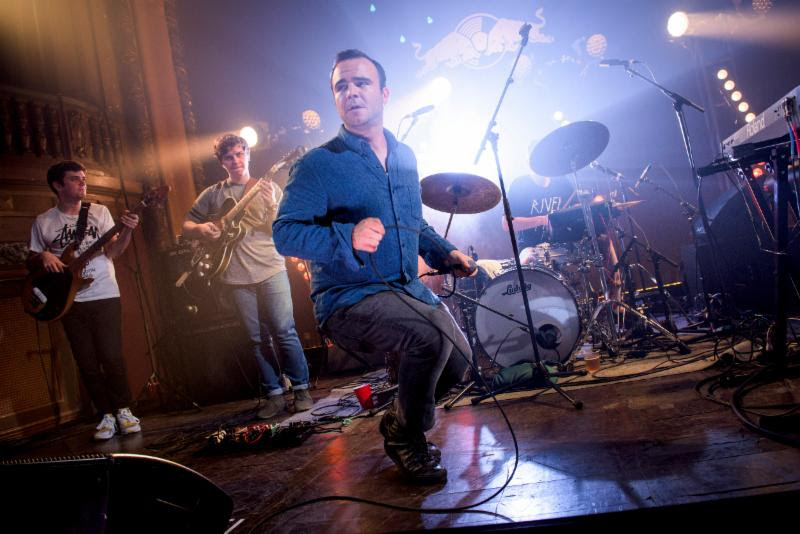 BADBADNOTGOOD took the stage at the Tower Theatre last night with Sam Herring of Future Islands,