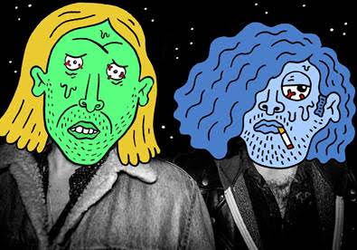"""Garage duo Love Buzzard release """"Superglue"""" video. The song comes off their forthcoming release 'ANTIFISTAMINES"""