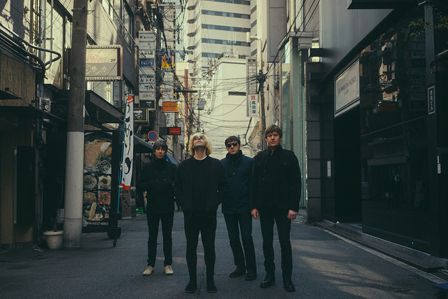 """The Charlatans perform their single """"Let The Good Times Be Never Ending"""" on The Late Late Show With James Corden."""