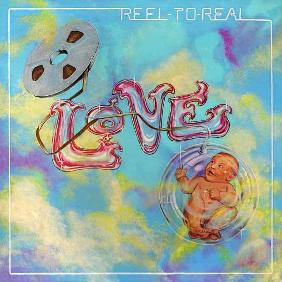 Love release 1974 Studio LP 'Reel To Real'. the album is available digitally and on physical CD via High Moon Records.
