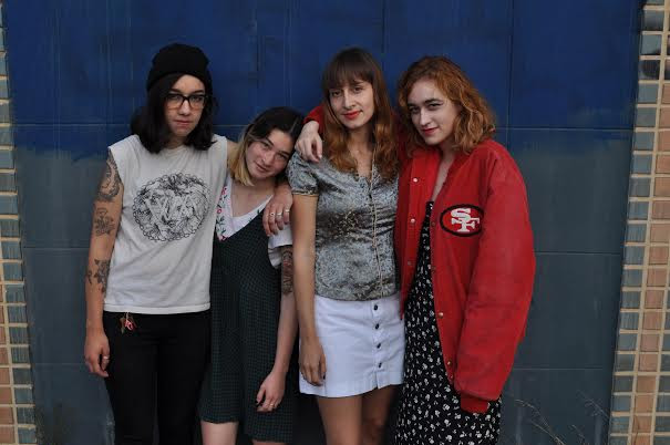"The She's stream ""Cherry Red"" Single, the track comes from their split 7"" w/ The Dry Spells"