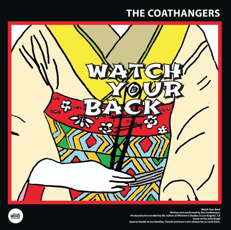 "The Coathangers share ""Watch Your Back"" video. Split w/ Black Lips out this week on Suicide Squeeze."