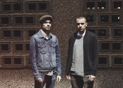 """Formation streams track """"Control"""". The song comes of the duo's EP 'Under The Tracks'. out November 20 on Meno Records."""