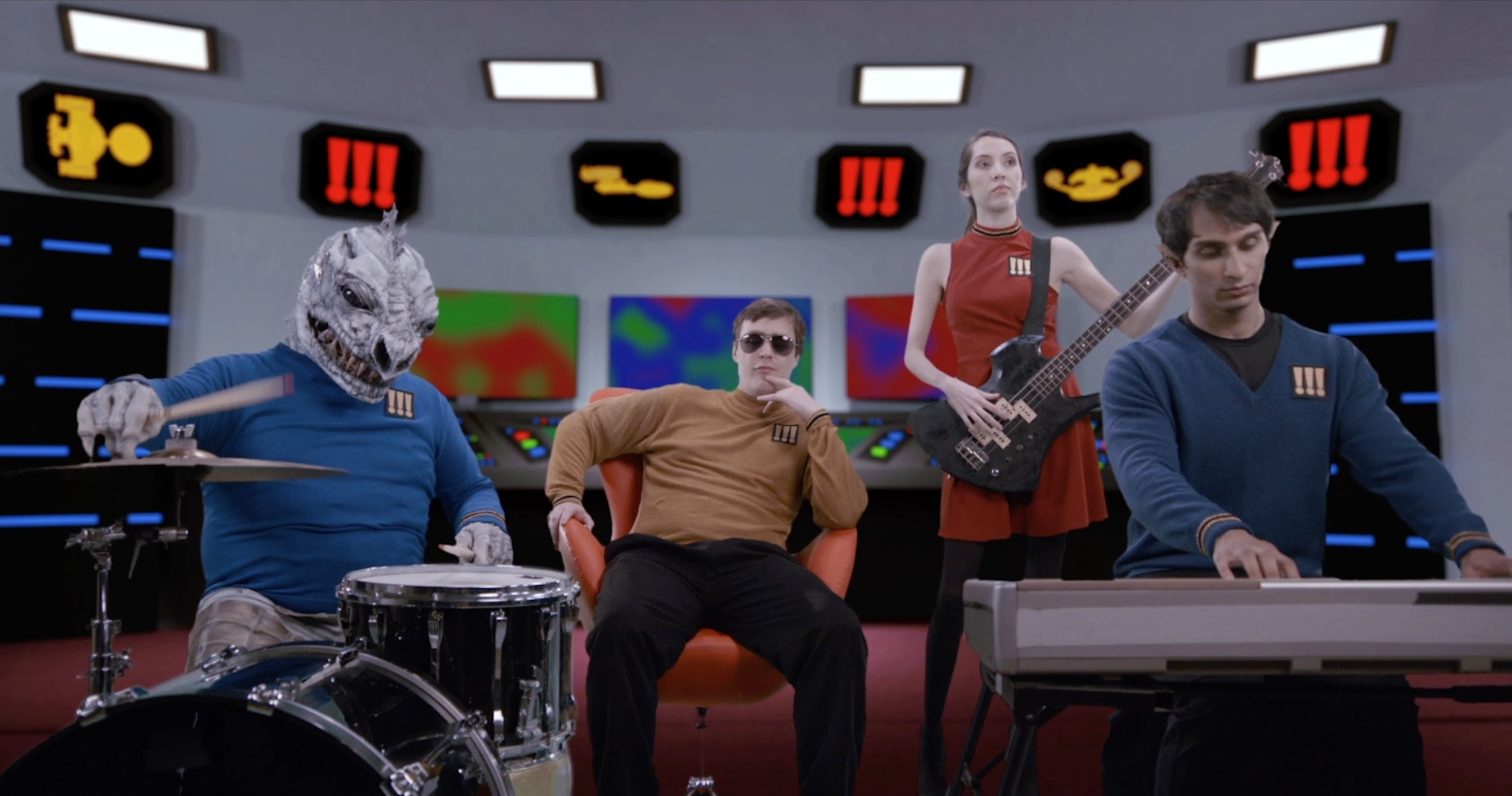"""Chk Chk Chk release their new Video for """"Ooo"""". The track comes off the band's 'As if' LP, now out on Warp Records."""