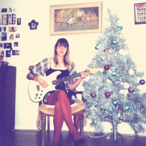 Review of 'Christmas in Reno', by Cassie Ramone. Out via Burger Records on December 11th