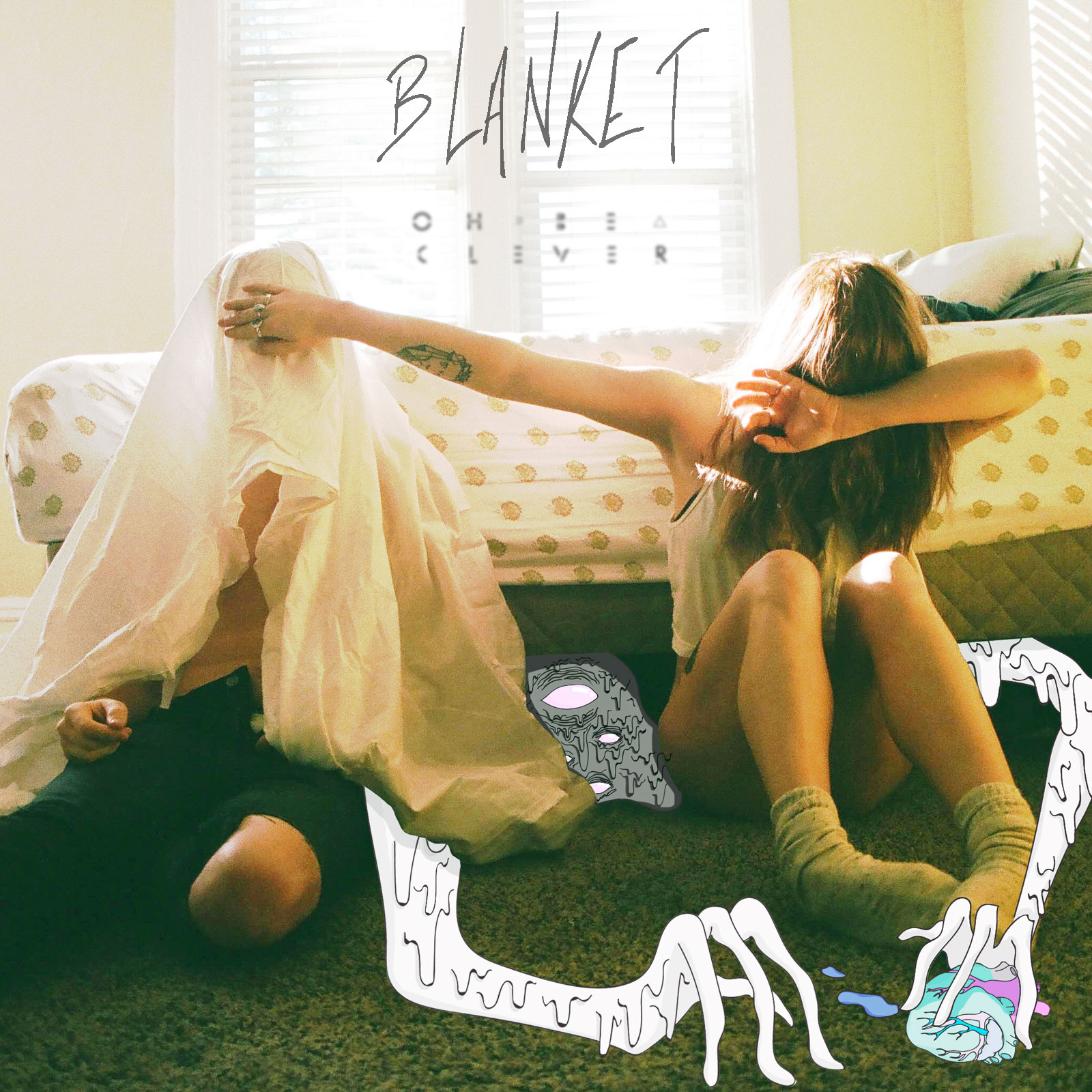 "Oh Be Clever share track ""Blanket""."