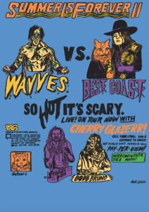 BEST COAST announce tour dates with WAAVES and Cherry Glazerr.