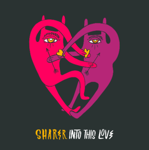 SHARER, the duo formed by Young & Sick (Nick van Hofwegen) and JD Samson (MEN / Le Tigre) release their second track