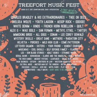 Treefort Music Fest 2016 has unveiled their first lineup announcement, including Charles Bradley, Thee Oh Sees, Youth Lagoon, Aesop Rock,