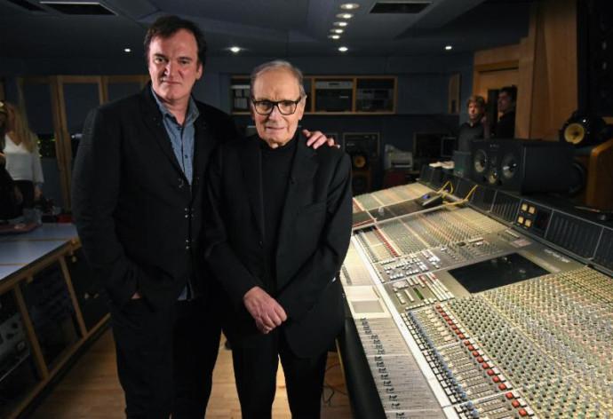Ennio Morricone scores Quentin Tarantino's new film 'The Hateful Eight',