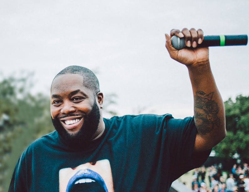 Killer Mike from Run The Jewels chats with Bernie Sanders
