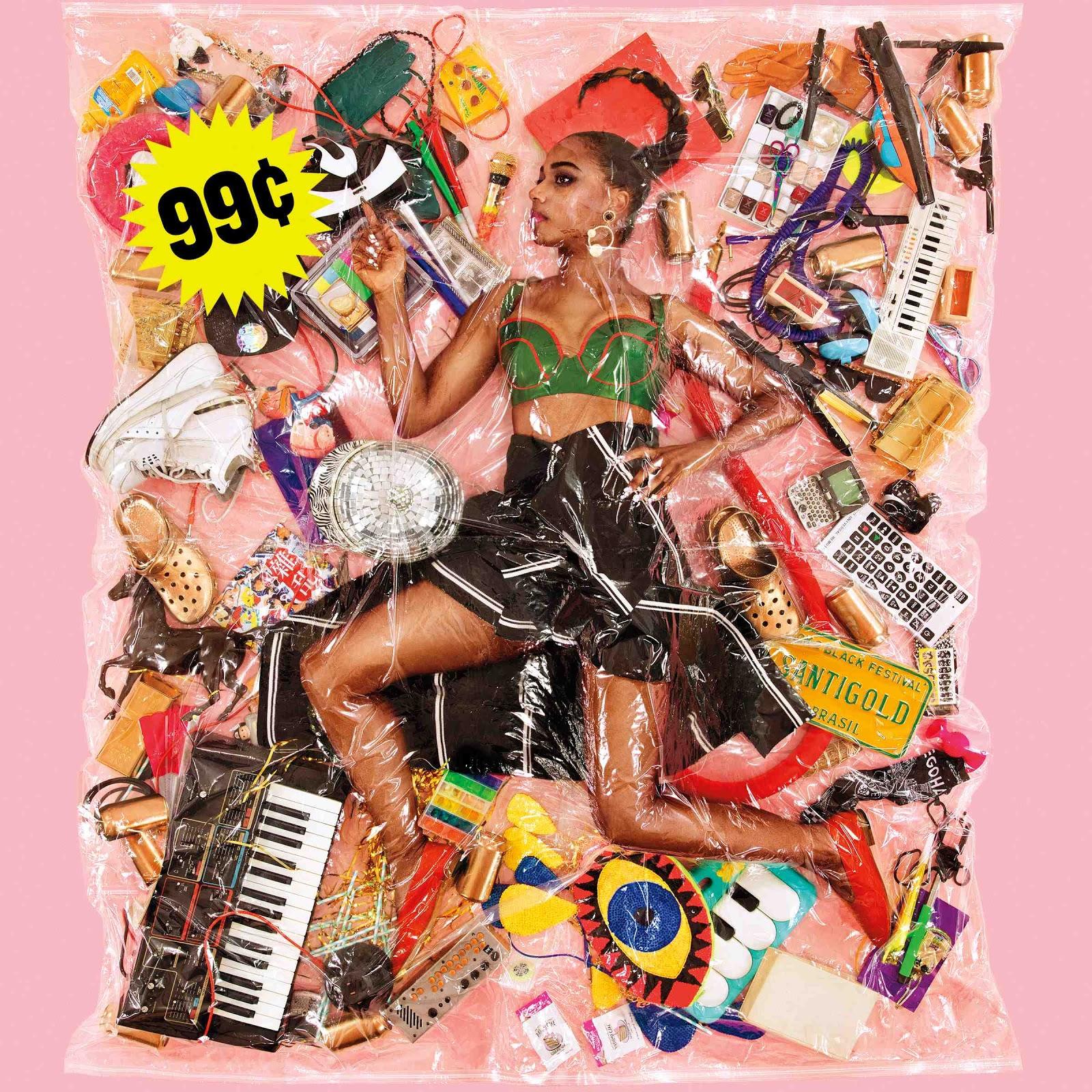 99¢' by Santigold, album review by Graham Caldwell. Santigold's '99¢' comes out February 5th via Atlantic Records.