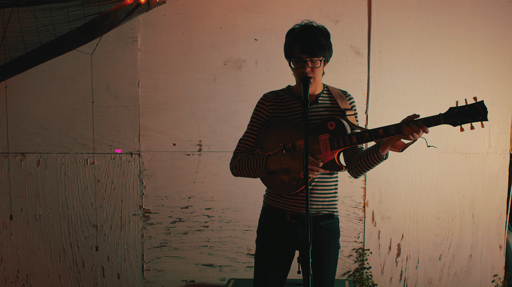 """Car Seat Headrest releases new video for his single """"Vincent"""". The track is off forthcoming LP 'Teens of Denial'"""