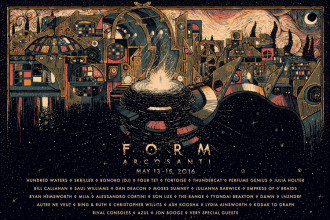 Form Arcosanti Micro Festival announces 2016 lineup, artists taking part include Hundred Waters, Skrillex, Dan Deacon, Perfume Genius
