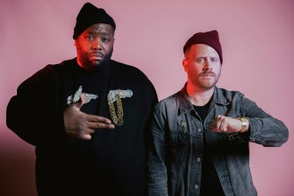 "Run the Jewels release virtual reality video for ""The Crown""."