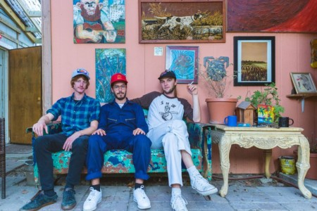 """Fortune Guns"" by Music Band is Northern Transmissions' 'Song of the Day'. The track is of their LP 'Wake Up Laughing'."