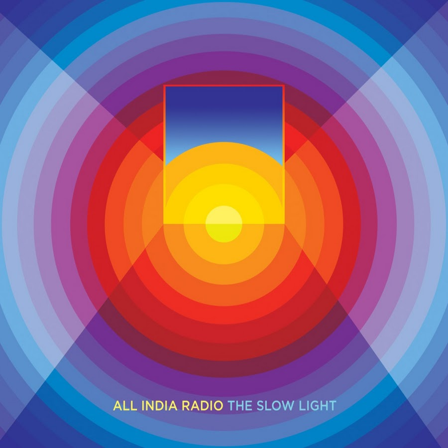 'The Slow Light' by All India Radio, album review by Jen Dan. The full-length comes out on April 15th via Minty Fresh,