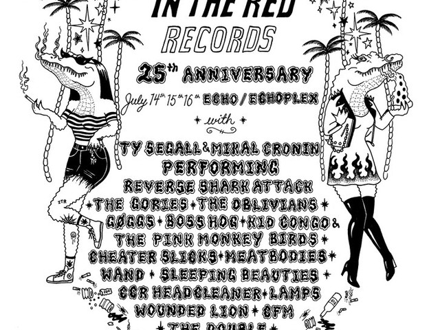 In The Red Records Announces 25th Anniversary Event with Ty Segall, Mikal Cronin