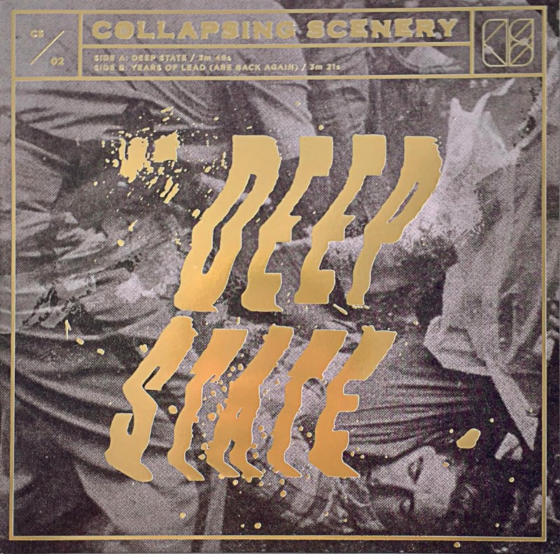 """Listen to a new song from Collapsing Scenery, the band has shared their """"Deep State"""""""