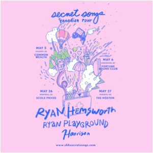 "Harrison collaborates with Ryan Hemsworth on new track ""It's Okay I Promise"""
