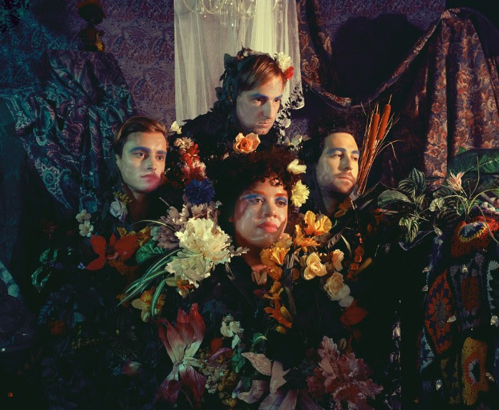 """Weaves stream new track """"Candy"""". The track comes off the band's self-titled album"""