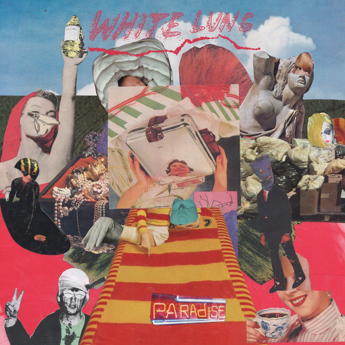 'Paradise' by White Lung, album review by Gregory Adams.