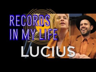 Lucius guest on 'Records In My Life',