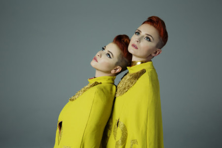 """LUCIUS premiere video """"GONE INSANE"""", the track comes off their latest release 'Good Grief'."""